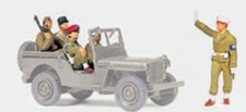 PREISER 72529  Military police Wenen 1945  1:72