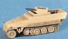 TRIDENT 90129  Sdkfz 251/21 Ausf.D Flakdrilling  1:87