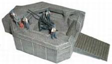 ARTMASTER 80364  Bunker voor 3,7 cm Flak  1:87