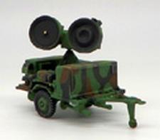 TRIDENT 87078  Hawk AN/MPQ-46  Radar  1:87