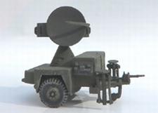 TRIDENT 87076  Hawk AN/MPQ-51  Radar  1:87