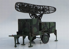 TRIDENT 87079  Hawk AN/MPQ-35  Radar  1:87