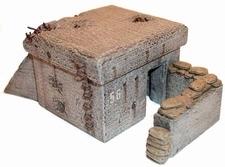 ARTMASTER 80006  MG Bunker  1:87