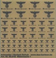 ARTMASTER 085018  Wehrmacht 1  1:87