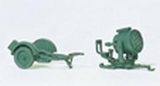 PREISER 16566  60cm Flakscheinwerfer mit Sd.Anh. 51  1:87