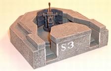 ARTMASTER 80197  Bunker mit FestungsPaK  1:87