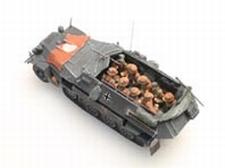ARTITEC 87066  Bemanning Sd.Kfz.251  1:87