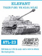 FRIULMODEL ATL-23  Tracks Elefant, Tiger P(H) VK45.01/45.02  1:35