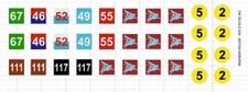 DM DECALS 3049  British 1st Airborne Division  1:35