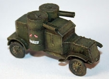 DEN BELS 007  WW1 Austin MK.II Arm.car  1:72