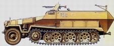 TRIDENT 90395  Sd.Kfz.251/1  Ausf.C    1:87