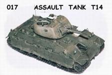 GIESBERS 017  Assault tank T-14  1:76