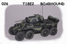 GIESBERS 026  T18E2 Boarhound  1:76