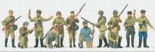 PREISER 16530  Russ. infanterie + partizanen  1:87