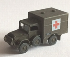 DM 1606  Daf YA-126 Gewondentransport  1:160