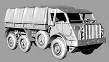 DM 1608  Daf YA-328 Artillerietrekker  NIEUW  1:160