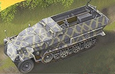 TRIDENT 90399  Sd.Kfz.251/2  Ausf.C  NIEUW  1:87