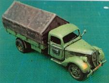 DEN BELS 044  Ford Munitietransport 1939 (NL)  NIEUW  1:72