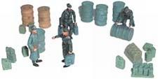 ARTMASTER 80393  Figuren Tanklager  1:87