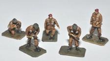 TRIDENT 96605  British Paratroopers Gun Crew  NIEUW  1:87