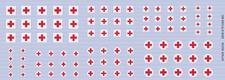 DM DECALS 8005  Rode Kruis klein  NIEUW