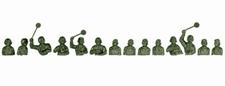 ROCO 3098  14 tankcommandanten  1:87