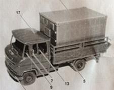 ARSENAL 74  Daimler-Benz L508D  MA Kabine 1  1:87