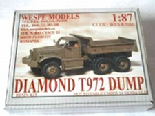 WESPE 87081  Diamond-T 972 Dump Truck  1:87
