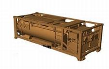 MINITANKS 400004  2 Tankcontainers 10 cbm  NIEUW  1:87