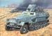 TRIDENT 90400  Sd.KFZ.251/10  Ausf.C  NIEUW 1:87
